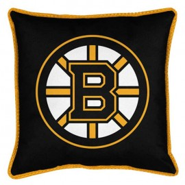 Boston Bruins Sideline Pillow - 18X18