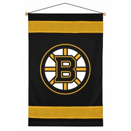 Boston Bruins Sideline Wall Hanging - 28 X 45