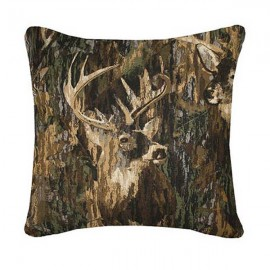 Browning Whitetails Square Accent Pillow