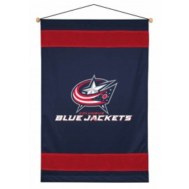 Columbus Blue Jackets Sideline Wall Hanging - 28 X 45