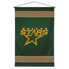 Dallas Stars Sideline Wall Hanging - 28 X 45