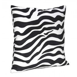Blue Zebra Accent Pillow