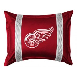 Detroit Red Wings Sideline Pillow Sham