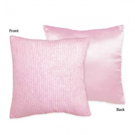 Chenille Pink Accent Pillow