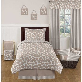 Giraffe Comforter Set - 3 Piece Full/Queen Size by Sweet Jojo Designs