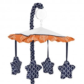 Arrow Orange & Navy Mobile