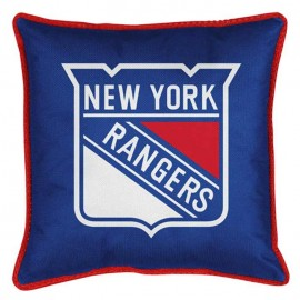 New York Rangers Sideline Pillow - 18X18