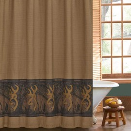 Oak Tree Buckmark Shower Curtain