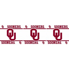 "Oklahoma Sooners Wall Border - 5"" Tall X 15' Long"