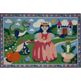 Fun Rugs Happily Ever After Accent Rug by Olive Kids