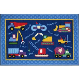 Olive Kids Under Construction Accent Rug from Fun Rugs