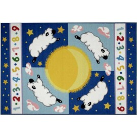 Olive Kids Sleepy Sheep Rug from Fun Rugs
