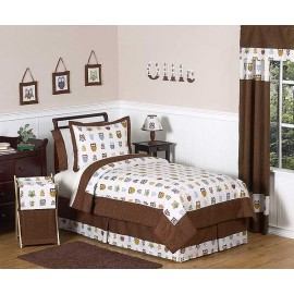 Owl Comforter Set - 3 Piece Full/Queen Size By Sweet Jojo Designs