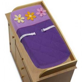Danielles Daisies Changing Pad Cover