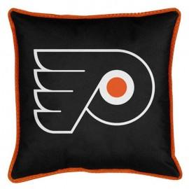 "Philadelphia Flyers Sideline Pillow - 17"" X 17"""