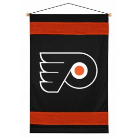 Philadelphia Flyers Sideline Wall Hanging - 28 X 45