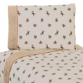 Monkey Sheet Set