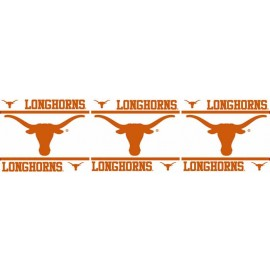 "Texas Longhorns Wall Border - 5"" Tall X 15' Long"