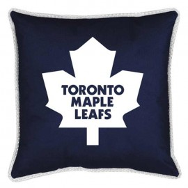 "Toronto Maple Leaf Sideline Pillow - 17"" X 17"""