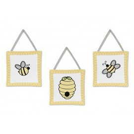 Honey Bee Wall Hanging