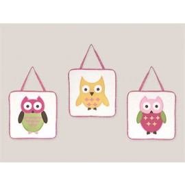 Happy Owl Wall Hanging