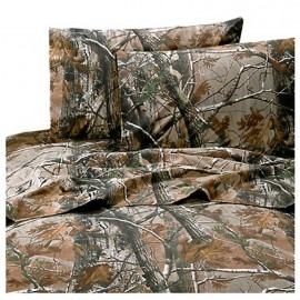 All Purpose Camouflage Sheet Set by Realtree - Queen Size