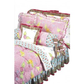 Amanda Sheet Set  (White Flower)