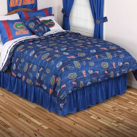 Florida Gators Comforter - All Over Print