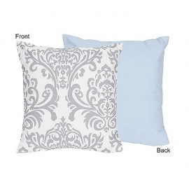 Avery Blue Accent Pillow