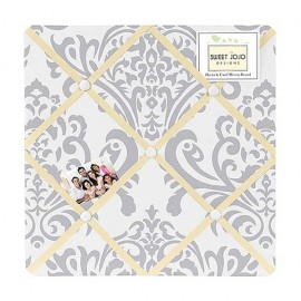 Avery Yellow Fabric Memo Board