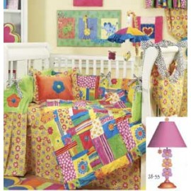 Betina 4 Piece Crib Bedding Set by California Kids