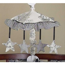Black French Toile Mobile