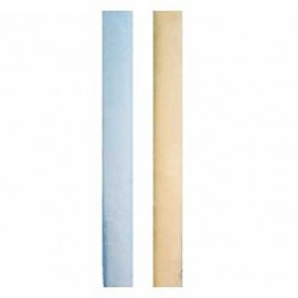 Wonder Bumper Vertical Crib Liners - Blue & Cream - 2 Pack