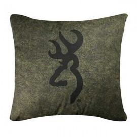 Browning Whitetails Accent Pillow - 20  X 20 Square (Logo)