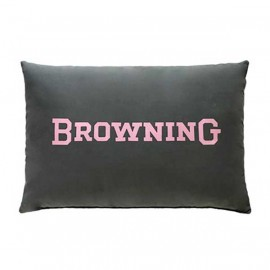 Browning Buckmark Plaid Oblong Pillow
