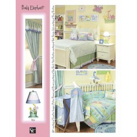 Baby Elephant Bunkie Sheet Set