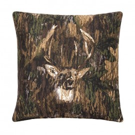Camo Deer by Browning Square Pillow
