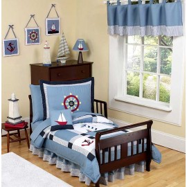 Come Sail Away Toddler Bedding Set by Sweet Jojo Designs