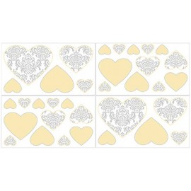 Avery Yellow Wall Decals