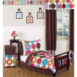 Deco Dot Toddler Bed Set by Sweet Jojo Designs
