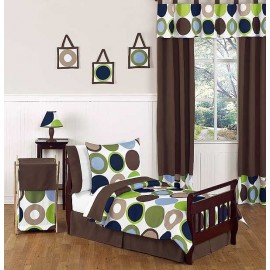 Designer Dot Toddler Bed Set by Sweet Jojo Designs