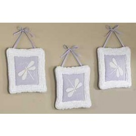 Lavender Dragonfly Dreams Wall Hanging