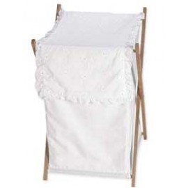 White Eyelet Hamper