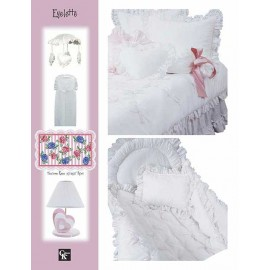 Eyelette Crib Pillow