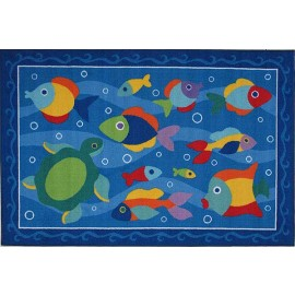 Olive Kids Somethin' Fishy Accent Rug from Fun Rugs