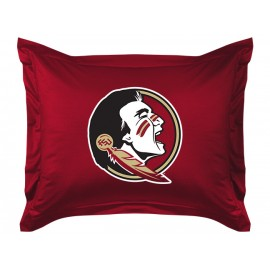 Florida State Seminoles Pillow Sham - Locker Room Collection (New Logo)