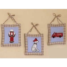 Frankies Firetruck Wall Hanging