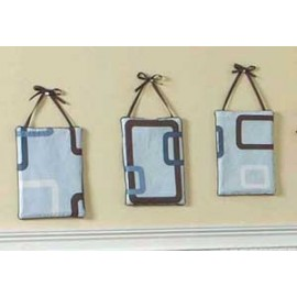 Geo Blue Wall Hanging
