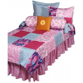 Go Girl Print Fitted Sheet - Crib Size