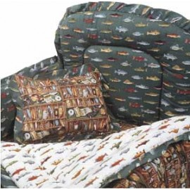Gone Fishing Bunkie Comforter - Toddler Bedding